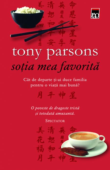 Tony Parsons: Soția mea favorită