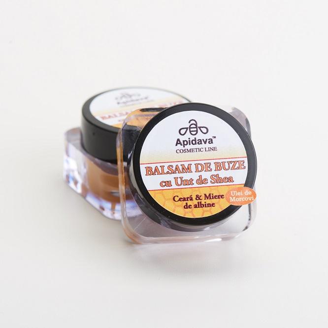 Minikit de îngrijire corporală cu produse cosmetice pe bază de miere